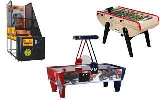 Jeux d'arcade GAMEPARC