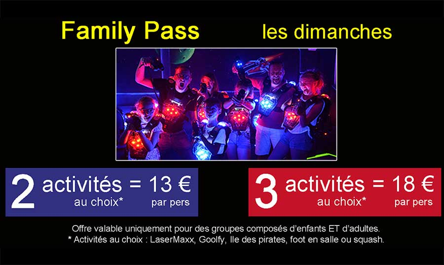 Illustration Offre family pass GameParc