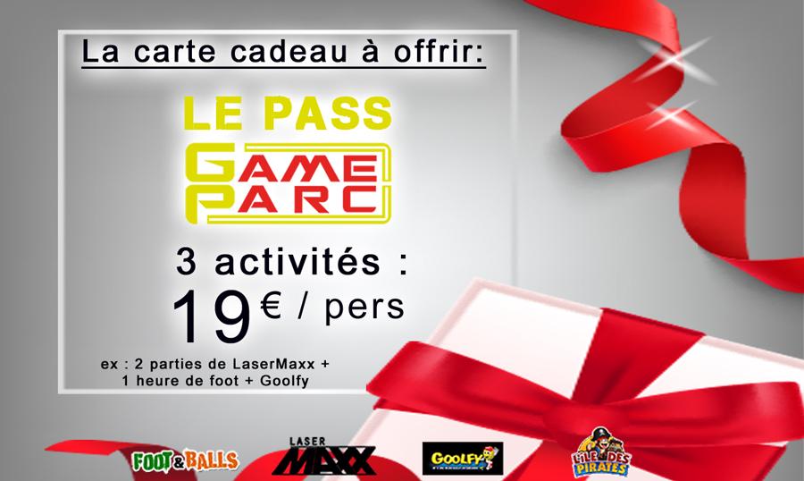 Visuel La carte cadeau Gameparc