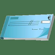 Visuel paiement par chèque